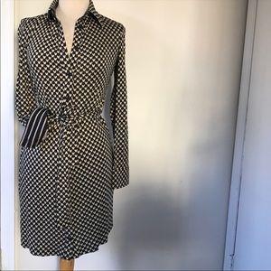 DVF midi dress size 2